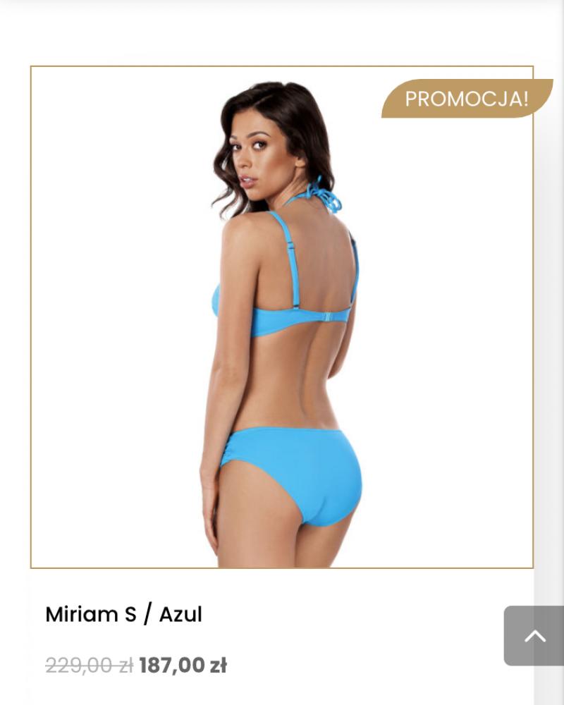 Miriam S  Azul