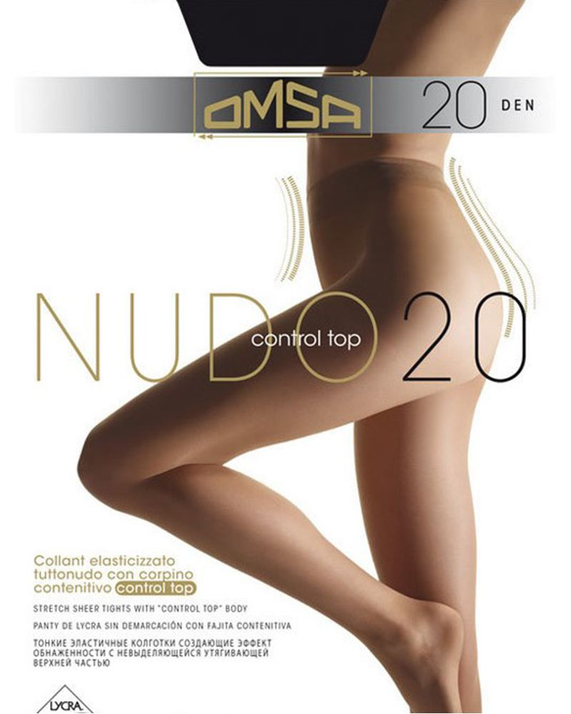 20 Nudo control top